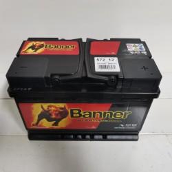 Baterie 12V 72Ah 650A