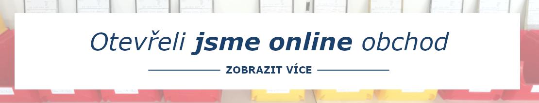 Otevřeli jsme online obchod